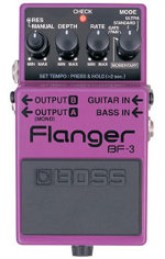 The Flanger Effects Pedal: History and Popular Examples