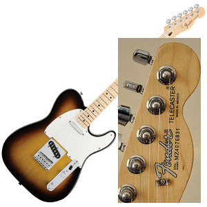 Fender Standard Telecaster (made in Mexico)