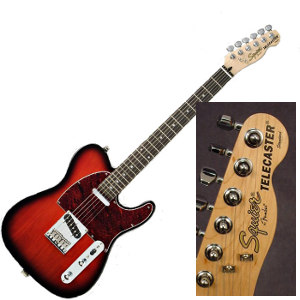 Squier Standard Telecaster (made in Indonesia)
